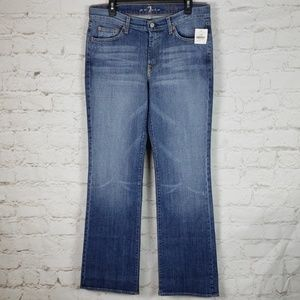 7 For All Mankind Brand New Bootcut jean size 33